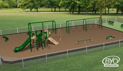 Adaptive playground design demonstrates JSA's focus on group play.
