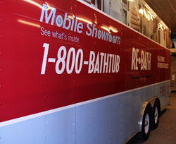 ReBath Northeast's bathroom remodeling mobile showroom will be at the home show