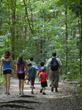 Children's Obesity Fund Provides Hikers with Snacks at GardenWorks for Kids' Family Hike on April 26