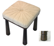 Fiva StoolOcean Leather Home Furnishings Collection