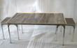 Bjornsson Large TableOcean Leather Home Furnishings Collection