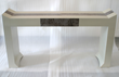 Bjornsson Console TableOcean Leather Home Furnishings Collection
