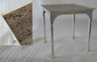 Bjornsson Table DetailOcean Leather Home Furnishings Collection