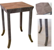 Bjornsson Side TableOcean Leather Home Furnishings Collection