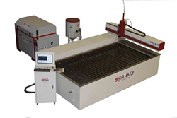 TechMoon CNC Abrasive Water Jet Cutting System Model 60-120