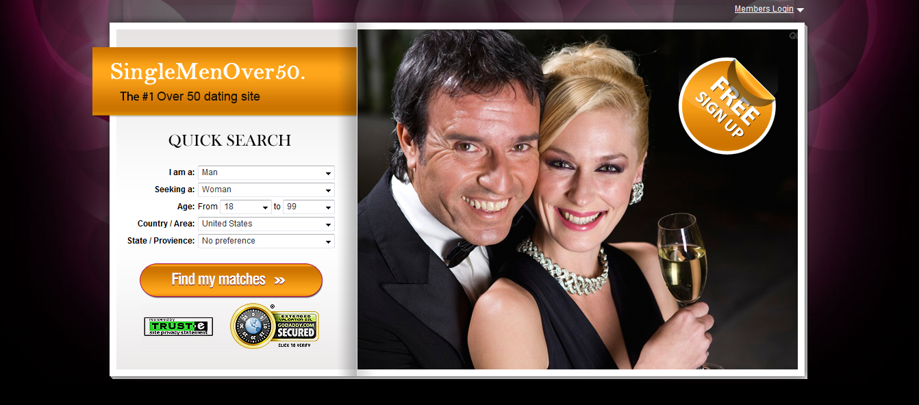 Free dating sites for 50+
