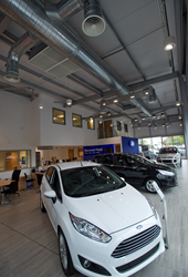 Monodraught's Cool-phase installed at a Ford Retail site