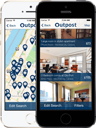 Outpost Travel iOS App