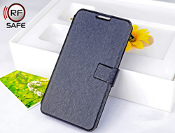 RF Safe Samsung Galaxy Note 3 Flip Cover Case with Radiation Shielded Flip Cover