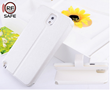 White Samsung Galaxy Note 3 flip cover case with RF Safe Shielded Flip Cover