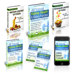 all natural kidney health and kidney function restoration program