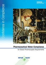 In its Pharmaceutical Water Compliance guide, METTLER TOLEDO Thornton explain the requirements of USP <645> Water Conductivity and USP <643> Total Organic Carbon.