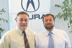 General Manager, Michael Galietta (left), is pictured with General Sales Manager, Michael Lasko
