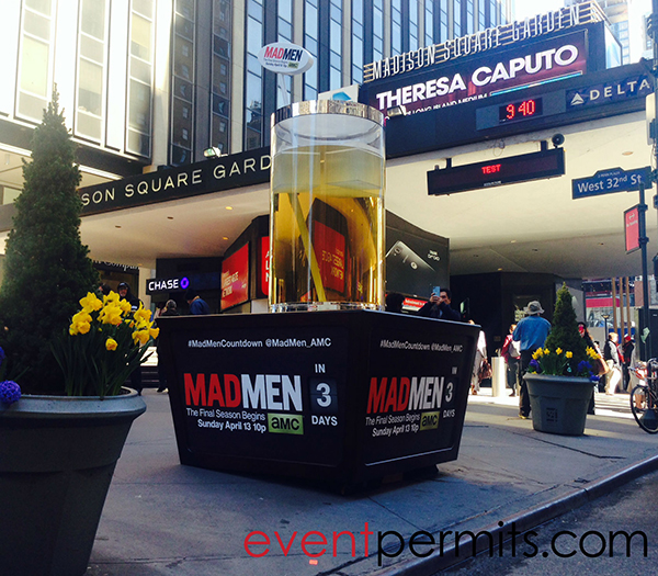 Event permitting agency secures nyc activity permit for - Madison square garden event schedule ...