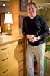 Gary Strand in the McKinnon Furniture showroom, downtown Seattle, Washington.