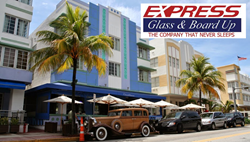 Miami Area 24/7 Emergency Glass Repair