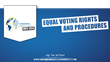 Equal Voting Rights