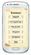 REVELATIONS APP: Main Menu Screen
