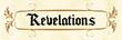 REVELATIONS APP: Logo
