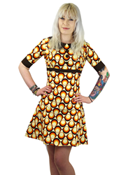 Madcap England Statement Print Dress