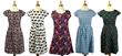 Retro Print Dresses at Atom Retro