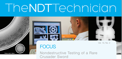 Vidisco is featured in NDT Technician April2014 ASNT