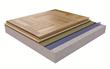 Portable Mosaic Sport Flooring