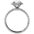 Vintage Engagement Rings Maker Knox Jewelers Releases Cushion Cut Engagement Ring Collection