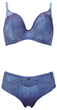Drifter bikini top and short from Freya swimwear
