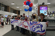 Avitus Group BSHF Welcome Home Team, Billings Airport