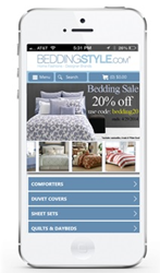 Bedding Style Mobile Site