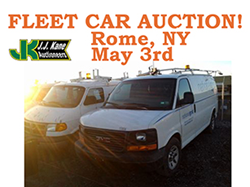 Used Fleet Auction, Rome NY  Open to the public!  No Reserve!