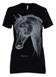 Jill Milan Ladies Thoroughbred Tee black