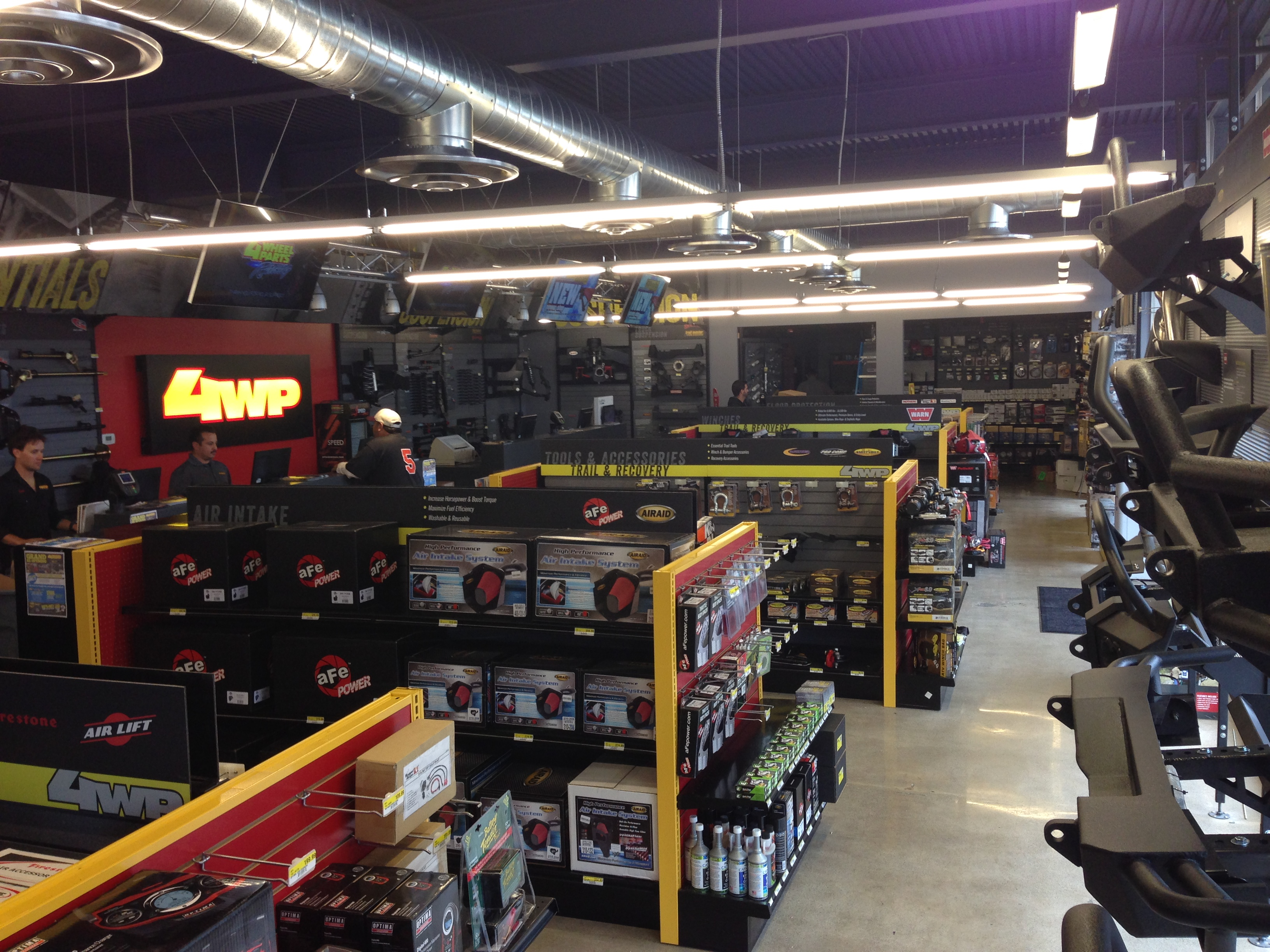 Toyota Parts Store >> Revamped 4 Wheel Parts San Jose Store Ramps Up for ...