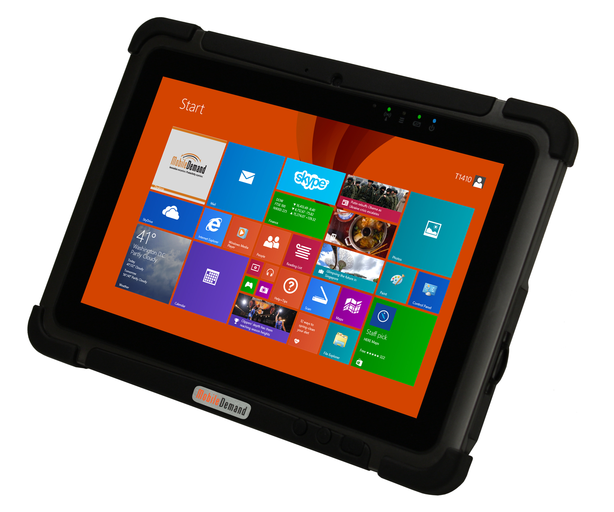 Thin And Light Rugged Tablet Introduced By Mobiledemand