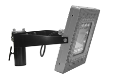 Pole Top Slip Fit Mount Explosion Proof Light Fixture that produces 12,000 lumens