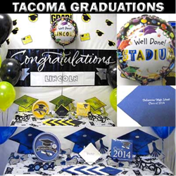 Tacoma party store featuring graduates in promotional campaign junglespirit Gallery