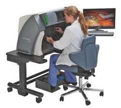 dV-Trainer robotic surgery simulation