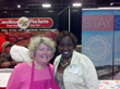 Angela Ray Delivered Food and Games at Women's Show