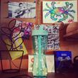 TRIMR Hybrid Water + Shaker Bottle