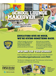 Register now for the next school lounge makeover at www.schoolloungemakeover.com