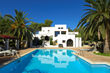 A villa in Santa Eulalia, Ibiza on AlphaHolidayLettings.com