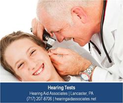 Hearing Test - Lancaster PA - Hearing Aid Associates