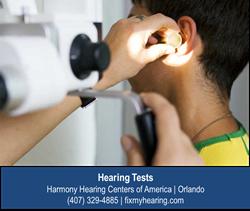 Hearing Test - Orlando FL - Harmony Hearing Centers of America