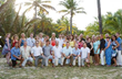 When Christie and Scot Barks got married at Coconut Bay in St. Lucia, they were joined by friends and family.