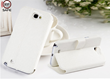 rfsafe samsung galaxy note 2 cell phone radiation case white kickstand flip case