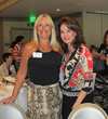 Adriana Viano- President of UnderCover MensWear with Sandra Yancey - CNN Hero and Founder of eWomen Network attended eWomen Network Orange County, CA Chapter meeting at The Center Club
