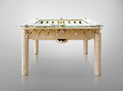 swarovski soccer table;  foosball table crystallized with SWAROVSKI ELEMENTS