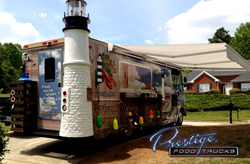 Tasting Maine Custom Food Truck. Prestige Food Trucks Builds & Manufactures Food Trucks & Offers Food Trucks For Sale As-Is