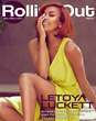 LeToya Luckett Covers Rolling Out Magazine